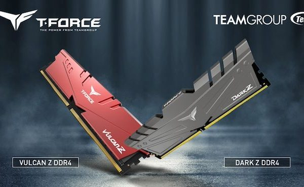 TeamGroup Announces 32GB T-Force Vulcan Z and Dark Z DDR4 Modules
