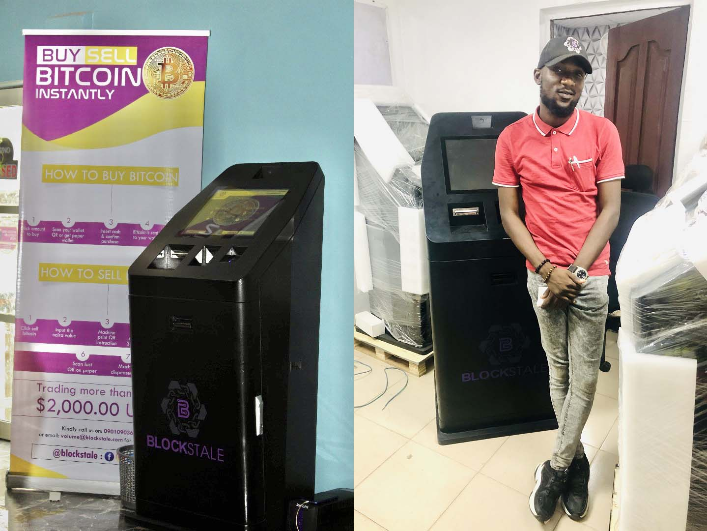 Nigerians Can Now Buy Bitcoin With Cash From Stores and ATMs That Take Naira