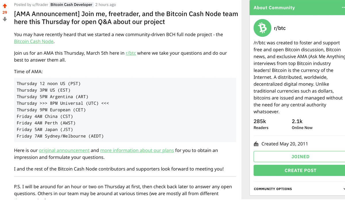 Bitcoin Cash Node Reveals Upgrade Plans for May and Difficulty Algorithm Research