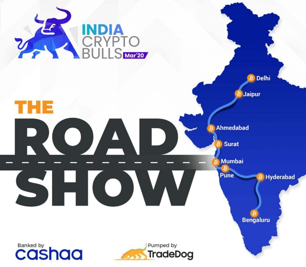 Crypto Bulls Roadshow Coming to Over 15 Indian Cities — With Government Participation