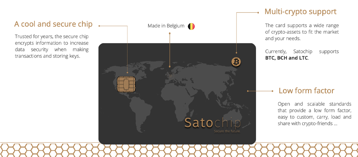 Belgium Startup Satochip Launches Hardware Wallet for SLP-Based Tokens