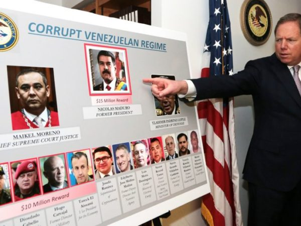$15 Million Bounty on Maduro: US Charges Venezuelan President With Narco-Terrorism, Corruption, Drug Trafficking
