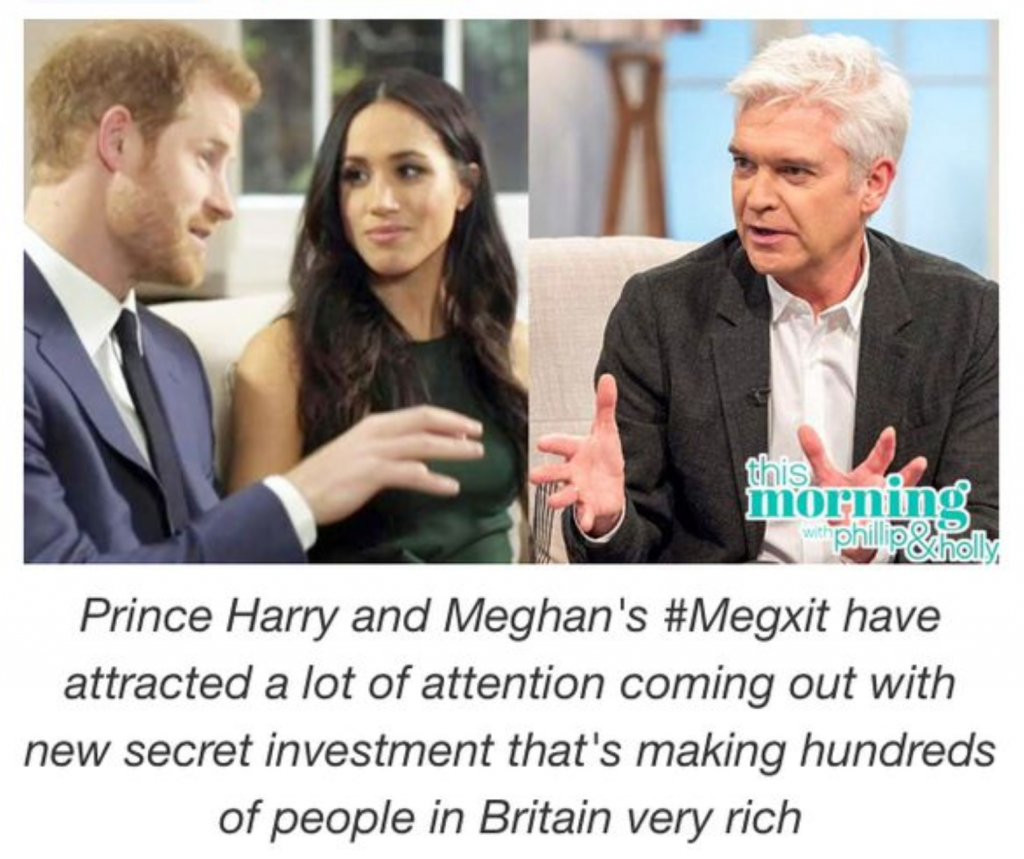 Bitcoin Evolution: Wanna Make Millions in 2 Months Like Prince Harry and Meghan Markle? It's a Scam