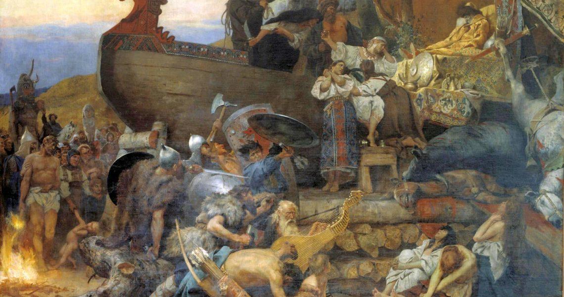 Funeral of ruthenian noble Credit: Siemiradzki