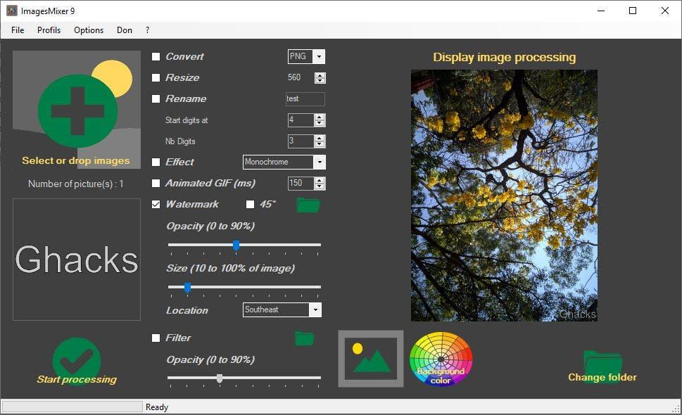 ImagesMixer watermark 2