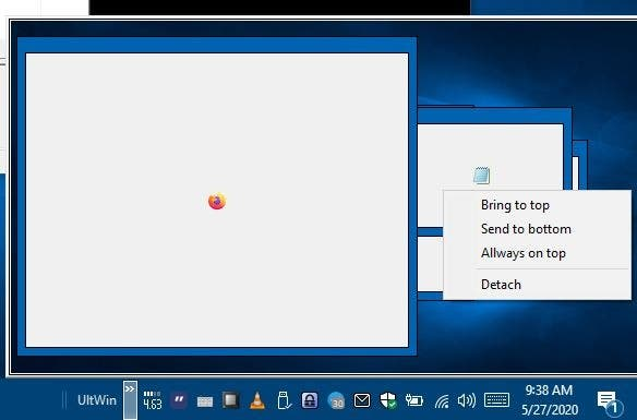 UltWin is a freeware window manager