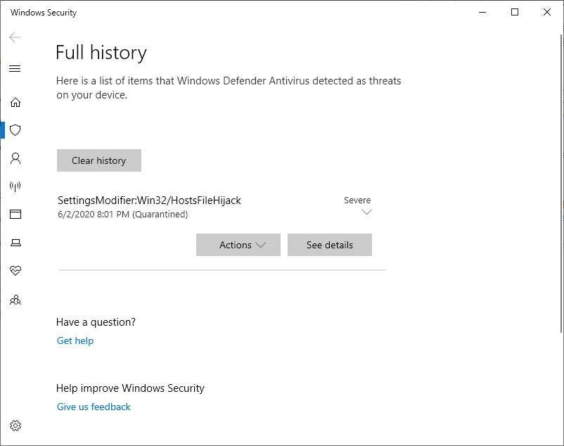 Windows Defender vs Wu10Man