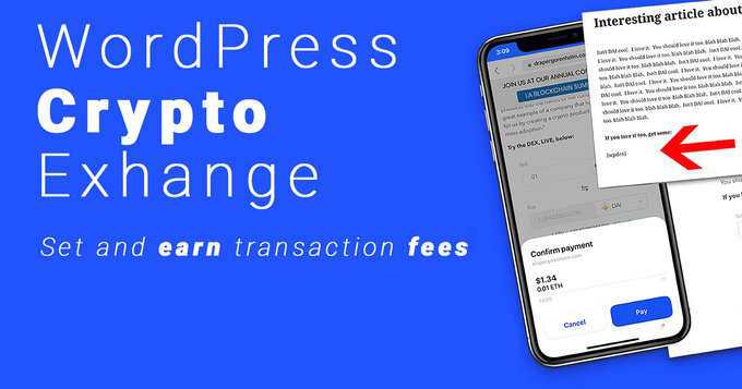 Hundreds of Sites Now Earn Crypto Trading Fees: Exchange WordPress Plugin Sees 300 Active Installs