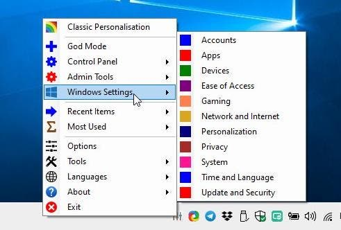 Win10 All Settings - Windows 10 Settings