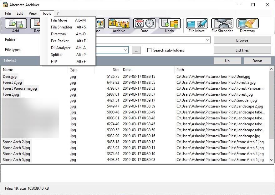 Alternate Archiver tools