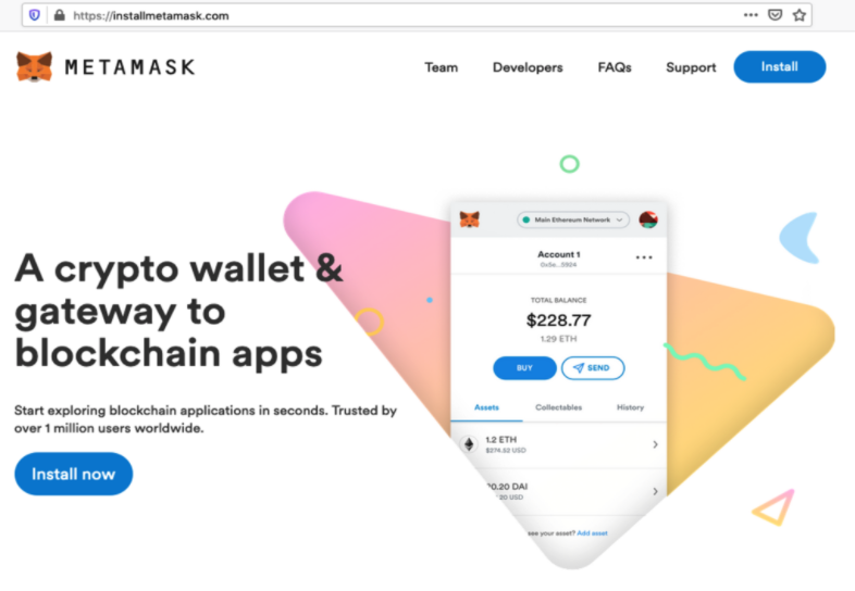 Warning: Fraudulent Crypto Browser Extension Redirects to a Fake Metamask Domain