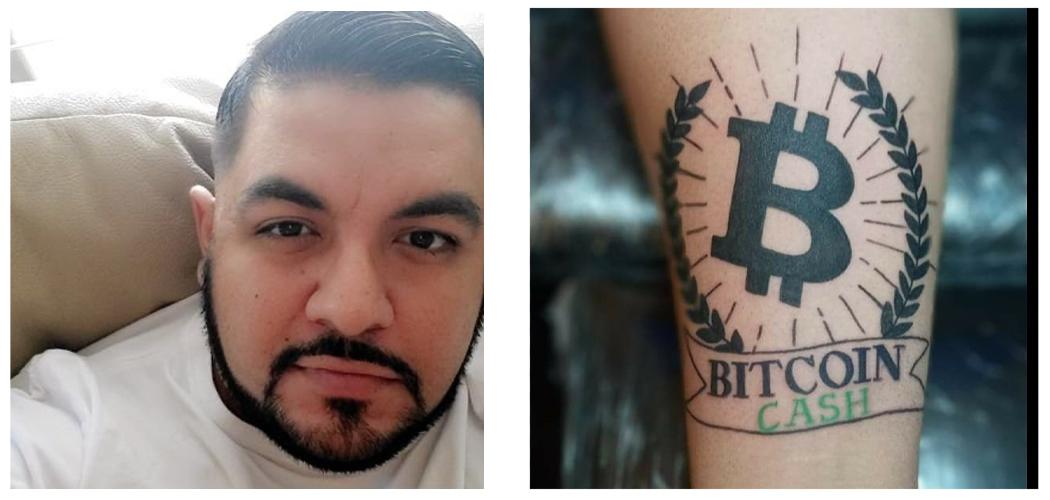 Bitcoin Cash Proponent Tattoos Forearm to Spread Digital Cash Awareness
