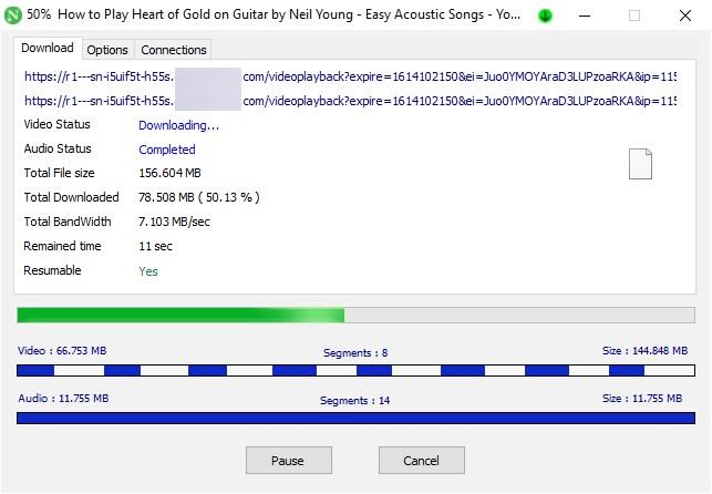 Neat Download Manager video download