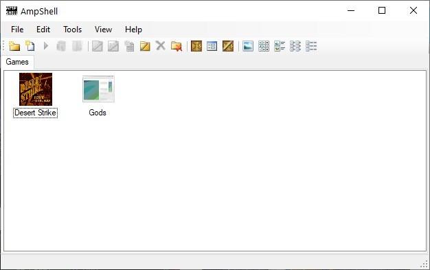 AmpShell change game icon 2